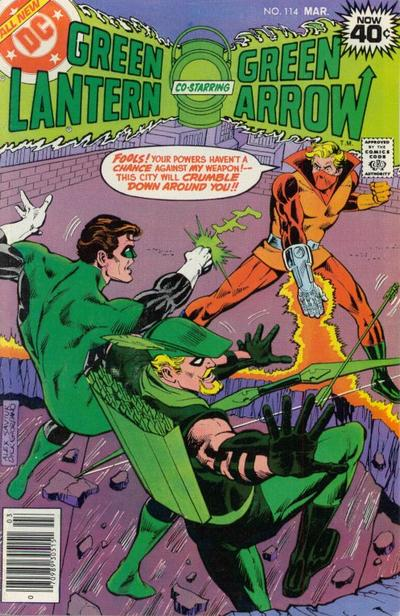 Cover for Green Lantern (DC, 1976 series) #114