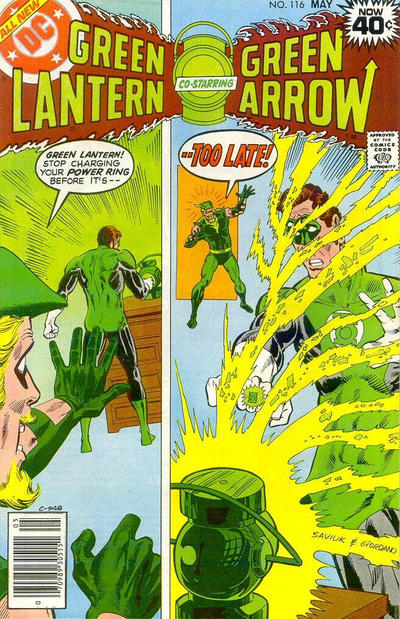 Cover for Green Lantern (DC, 1976 series) #116 [Whitman Variant]