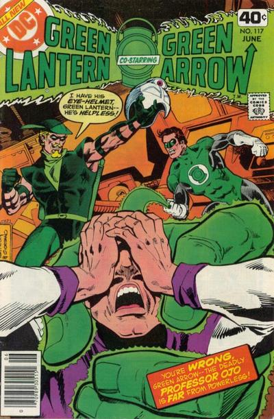 Cover for Green Lantern (DC, 1976 series) #117