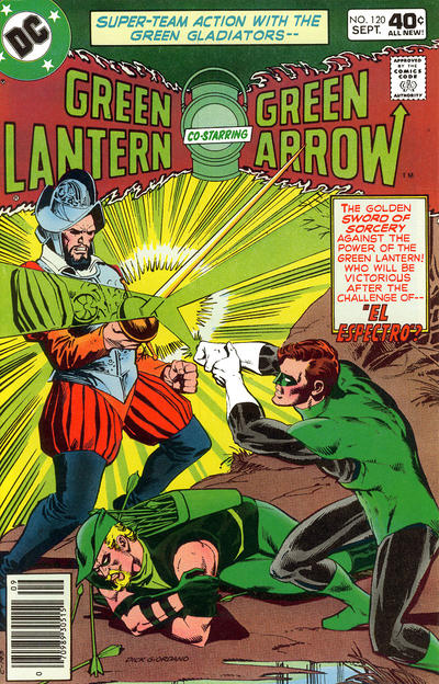 Cover for Green Lantern (DC, 1976 series) #120