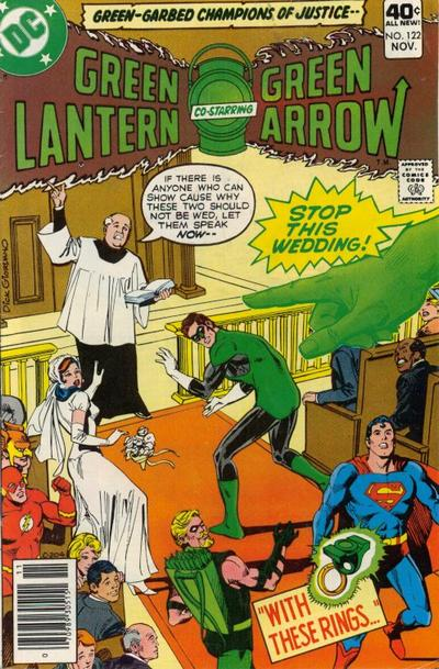 Cover for Green Lantern (DC, 1976 series) #122