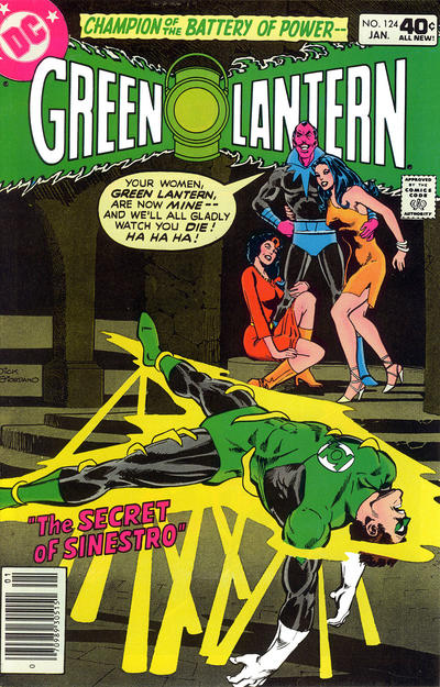 Cover for Green Lantern (DC, 1960 series) #124