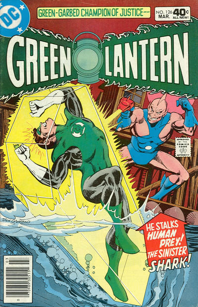 Cover for Green Lantern (DC, 1976 series) #126