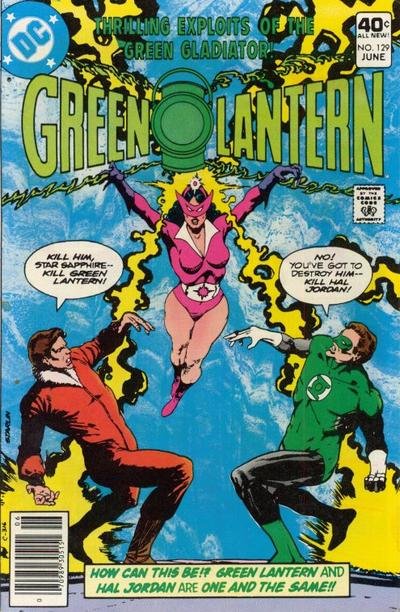 Cover for Green Lantern (DC, 1960 series) #129
