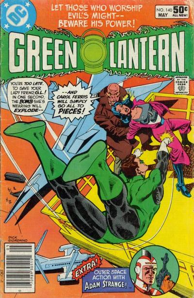 Cover for Green Lantern (DC, 1960 series) #140 [Direct Sales]