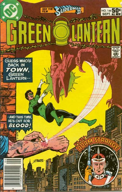 Cover for Green Lantern (DC, 1976 series) #144