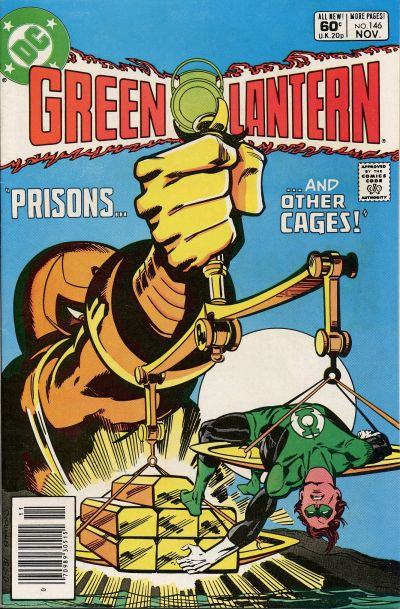 Cover for Green Lantern (DC, 1976 series) #146