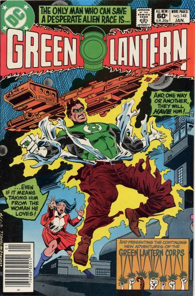 Cover for Green Lantern (DC, 1976 series) #148 [Direct Sales]