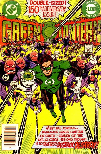 Cover for Green Lantern (DC, 1960 series) #150 [Direct Sales]