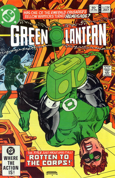 Cover for Green Lantern (DC, 1976 series) #154 [Direct Sales]