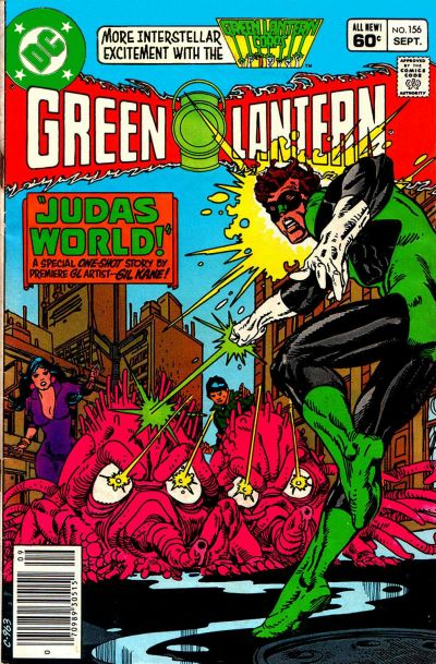Cover for Green Lantern (DC, 1976 series) #156 [Direct Sales]