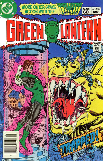 Cover for Green Lantern (DC, 1976 series) #158 [Direct Sales]