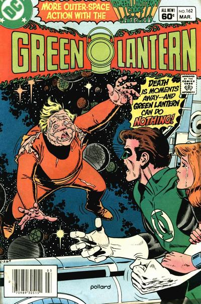 Cover for Green Lantern (DC, 1960 series) #162 [Direct]