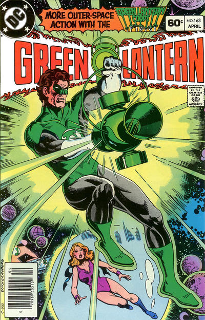 Cover for Green Lantern (DC, 1976 series) #163 [Canadian Price Variant]