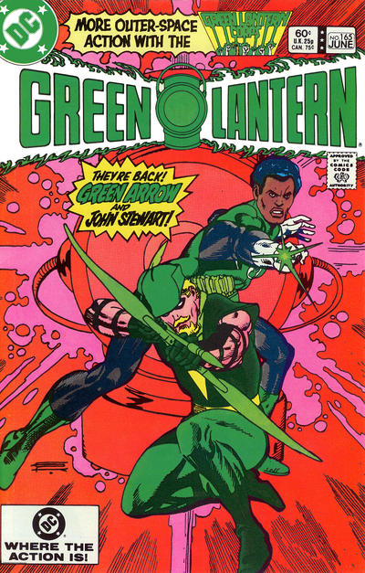 Cover for Green Lantern (DC, 1960 series) #165 [Direct-Sales]