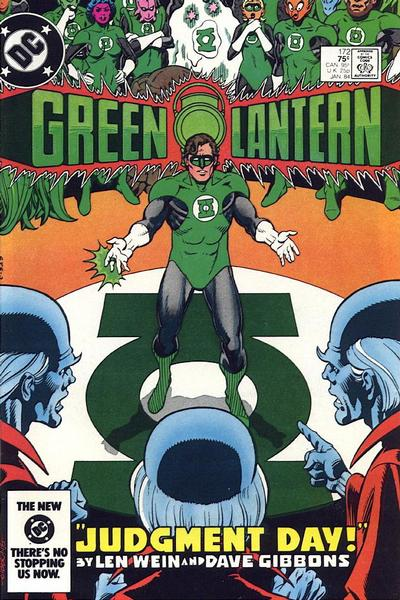 Cover for Green Lantern (DC, 1976 series) #172 [Newsstand Edition]