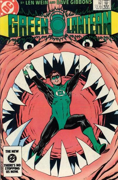 Cover for Green Lantern (DC, 1976 series) #176 [Newsstand]