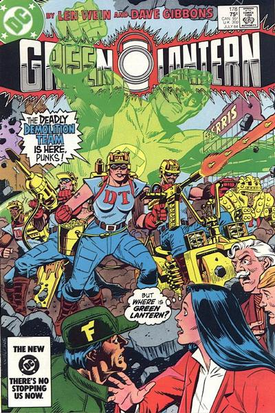 Cover for Green Lantern (DC, 1976 series) #178 [Direct Edition]