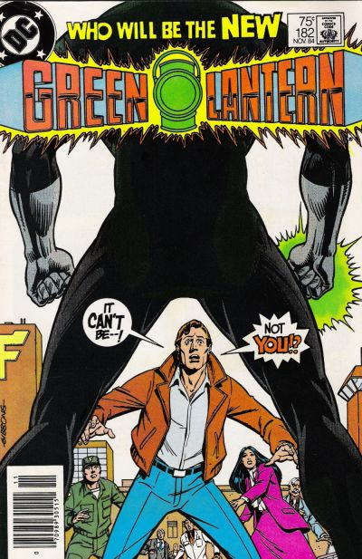 Cover for Green Lantern (DC, 1976 series) #182 [Direct Sales]