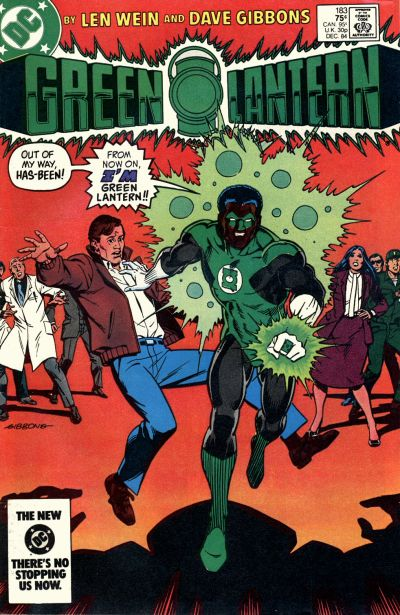 Cover for Green Lantern (DC, 1976 series) #183 [Direct-Sales Variant]