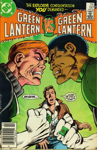 Cover for Green Lantern (DC, 1976 series) #197 [Direct Edition]