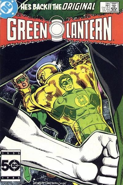 Cover for Green Lantern (DC, 1976 series) #199 [Newsstand Edition]