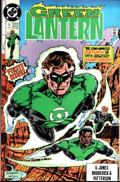 Cover for Green Lantern (DC, 1990 series) #1 [Direct]