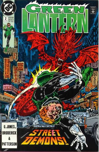 Cover for Green Lantern (DC, 1990 series) #2