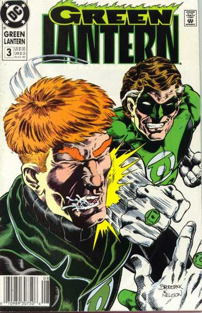Cover for Green Lantern (DC, 1990 series) #3 [Direct]
