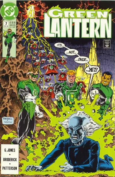 Cover for Green Lantern (DC, 1990 series) #7
