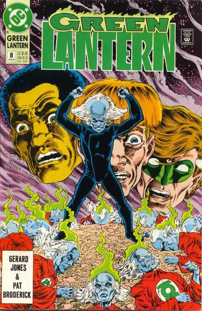 Cover for Green Lantern (DC, 1990 series) #8
