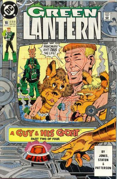 Cover for Green Lantern (DC, 1990 series) #10 [Direct]
