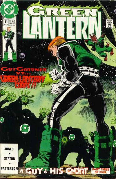 Cover for Green Lantern (DC, 1990 series) #11