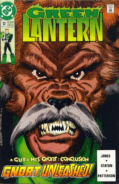 Cover for Green Lantern (DC, 1990 series) #12 [Direct]