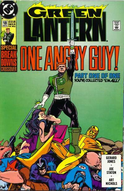 Cover for Green Lantern (DC, 1990 series) #18