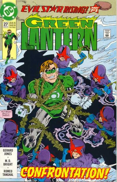 Cover for Green Lantern (DC, 1990 series) #27