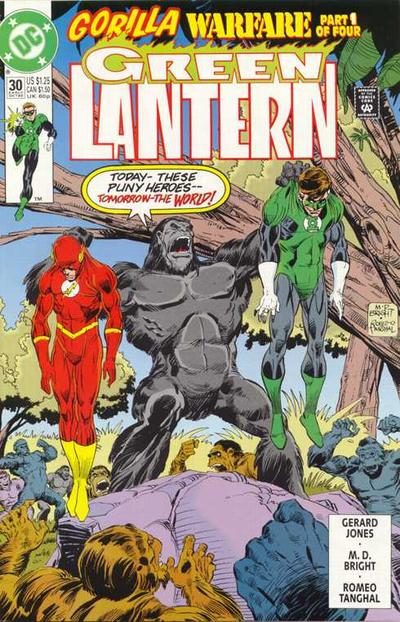Cover for Green Lantern (DC, 1990 series) #30