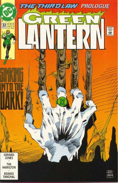 Cover for Green Lantern (DC, 1990 series) #32