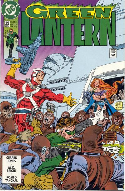 Cover for Green Lantern (DC, 1990 series) #39