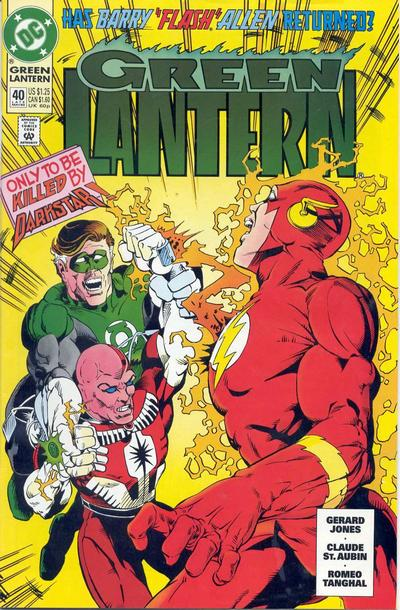 Cover for Green Lantern (DC, 1990 series) #40