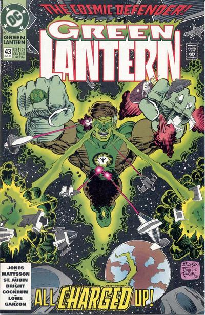 Cover for Green Lantern (DC, 1990 series) #43