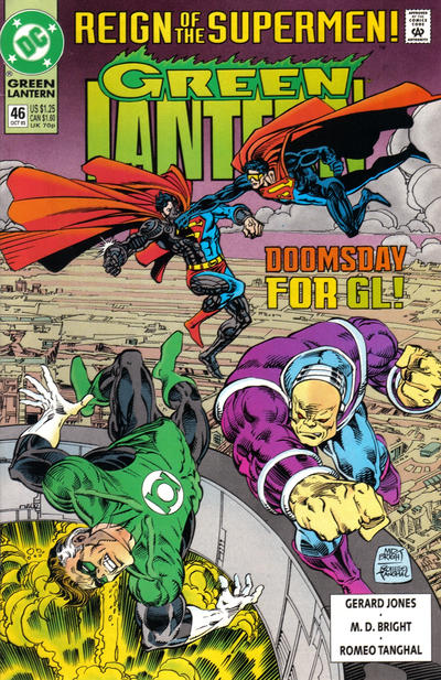 Cover for Green Lantern (DC, 1990 series) #46 [Direct]
