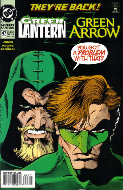 Cover for Green Lantern (DC, 1990 series) #47 [Direct Sales]