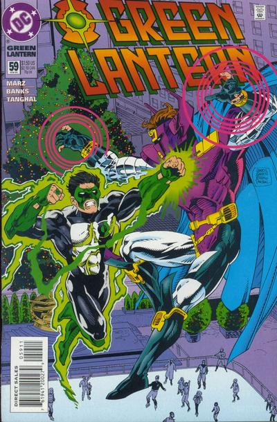 Cover for Green Lantern (DC, 1990 series) #59