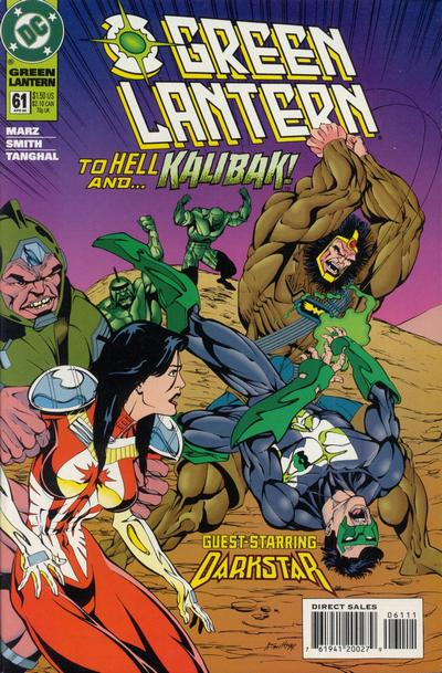 Cover for Green Lantern (DC, 1990 series) #61