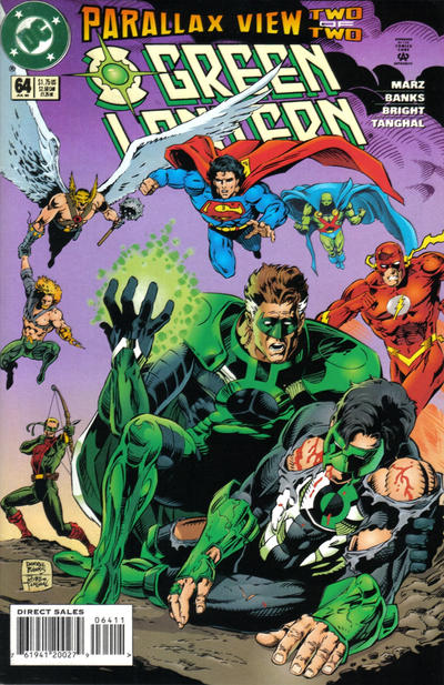 Cover for Green Lantern (DC, 1990 series) #64