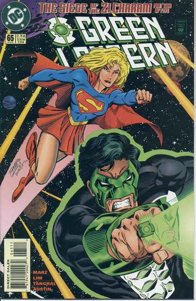 Cover for Green Lantern (DC, 1990 series) #65 [Direct Sales]