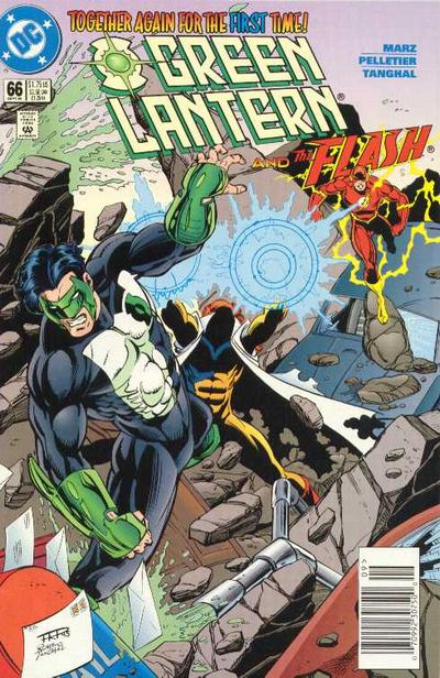 Cover for Green Lantern (DC, 1990 series) #66 [Direct Sales]