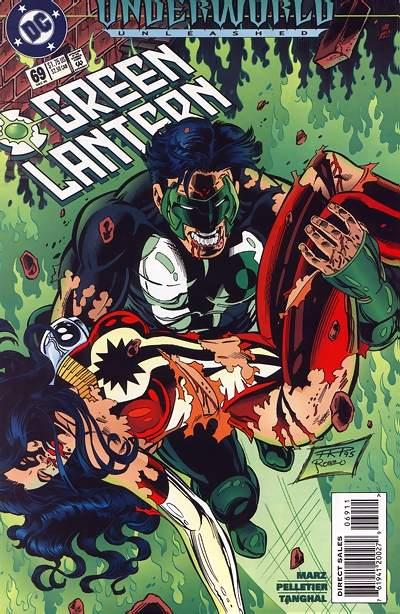 Cover for Green Lantern (DC, 1990 series) #69 [Direct Sales]