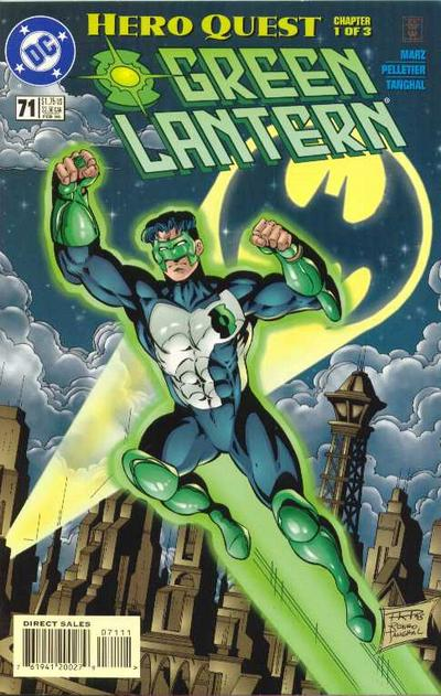 Cover for Green Lantern (DC, 1990 series) #71
